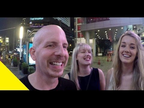 How to meet women. Thai, Russian, Scottish, Korean or from Nebraska in Bangkok Thailand. VLOG 033