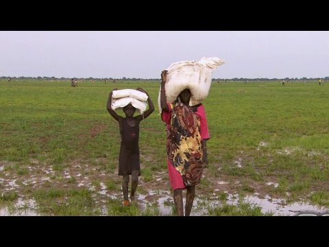 Scott Pelley on the famine crisis in South Sudan