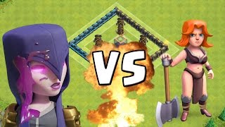 HEXE vs. WALKÜRE! || CLASH OF CLANS || Let