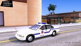 1996 Chevy Caprice Hometown Police GTA San Andreas 1440p 2 7K 60FPS