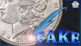 Spotting FAKE Morgan Silver Dollars