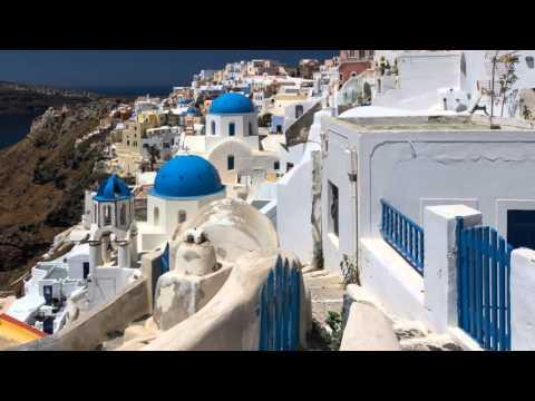 Santorini - Greece. HD Travel.