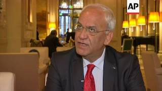 "Erekat: ""nail in the coffin"" of two-stage solution"