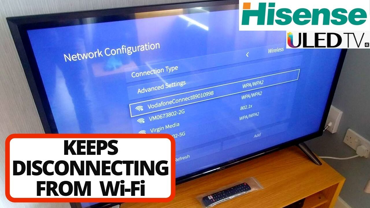 How to Fix Hisense TV Won't Connect to WiFi Network || Hisense Smart TV not  Connecting to WiFi