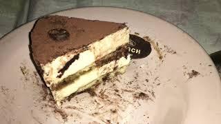 """Обзор торта У Палыча «Птичка-Тирамису» (песочный)/Review of the cake At Palych """"Bird-Tiramisu"""""""