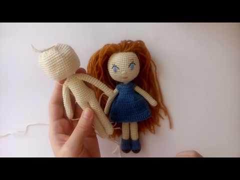Вязание крючком схемы куклы