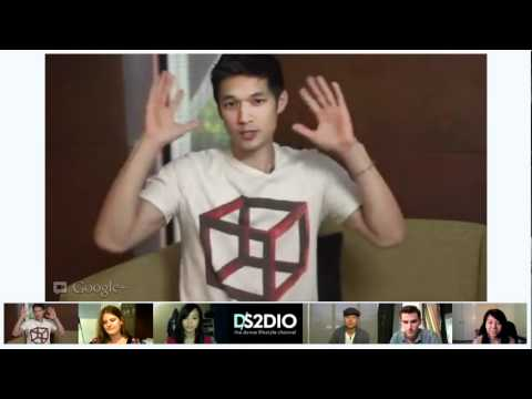 DS2DIO GOOGLE HANGOUT w/ Harry Shum, Mike Song & Mike Tompki