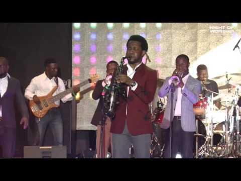 BEEJAY SAX @ NIGHT OF WORSHIP JOSHUA VILLE RCCG CITY OF DAVID