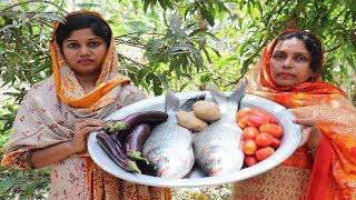 Village Style Big Fish Curry Catla 10 kg Big Fish Recipe / 10 kg Big Fish Recipe Cooking So Yummy
