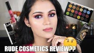 Testing RUDE COSMETICS | First Impressions In Hindi