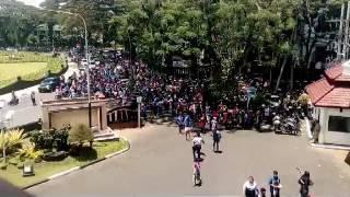 Konvoi Arema Juara Piala Presiden 2017