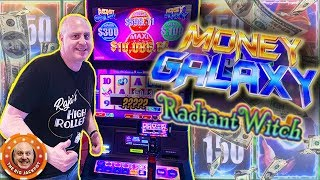 💸GETTIN' RICH with RADIANT WITCH! 💸1st Time Play on Money Galaxy! 🎰