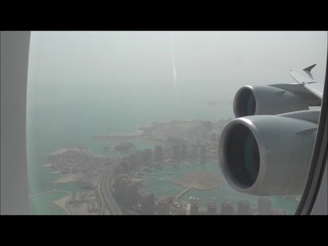 Qatar Airways Airbus A380-861 | Doha to London Heathrow *Full Flight*