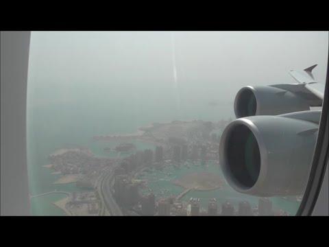 Qatar Airways Airbus A380-861 | Doha to London Heathrow *Full Flight*