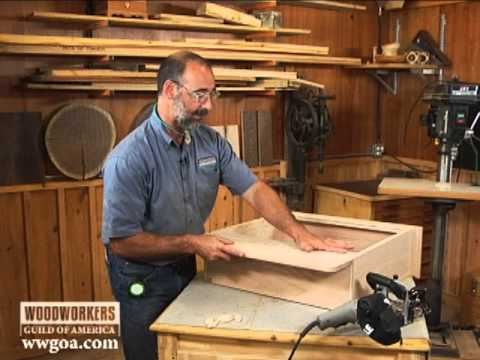 Woodworking Tips & Techniques: Joinery – Using a Biscuit Joiner