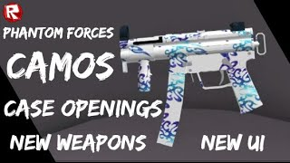 ROBLOX Phantom Forces CASE OPENINGS, NEW WEAPONS, CAMOS, NEW UI, +++