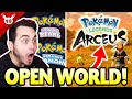 OPEN WORLD POKEMON! NEW Pokemon Presents LIVE Reaction! #Pokemon25