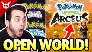 OPEN WORLD POKEMON! NEW Pokemon Presents LIVE Reaction! #Pokemon25