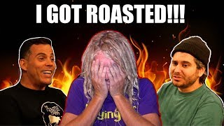 I GOT ROASTED BY H3H3 & Steveo!! *Reaction*