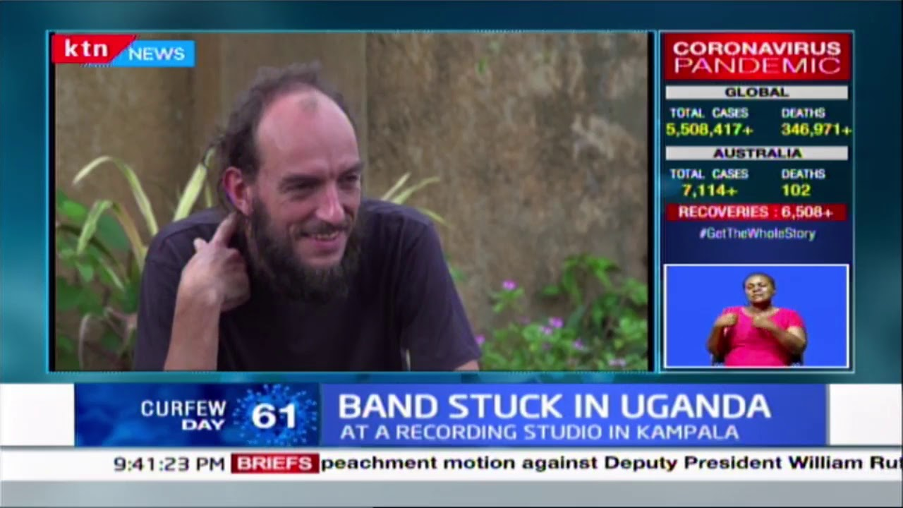 Band stuck in Uganda :  Congolese band stranded in Uganda over Covid-19