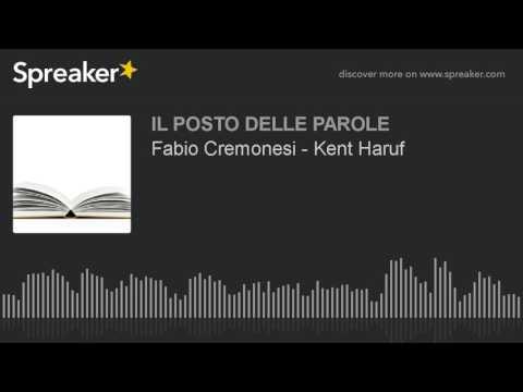 Fabio Cremonesi - Kent Haruf
