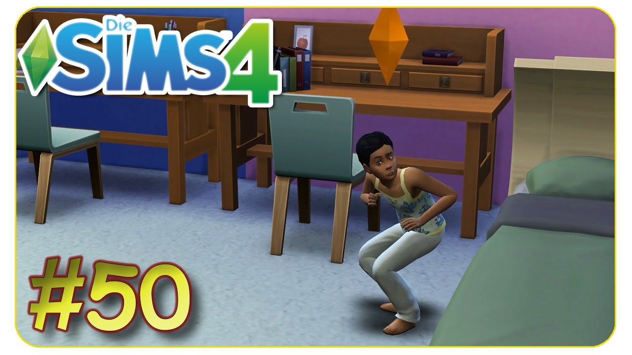 ein kinderzimmer f r zwei 50 die sims 4 gameplay let 39 s play youtube. Black Bedroom Furniture Sets. Home Design Ideas