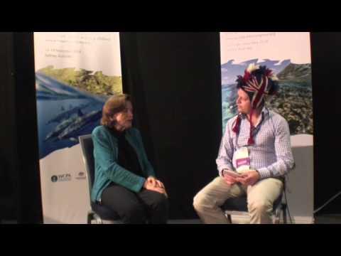 Jungle Bird interviewing marine biologist Sylvia Earle