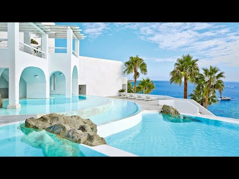 Grecotel Mykonos Blu (Greece), a gorgeous 5-star beach resort | Full tour
