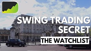Powerful Swing Trading Watchlist Technique (TradingView)