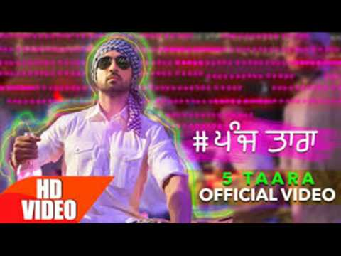 5 Taara - Diljit Dosanjh | Official video | Latest Punjabi Song