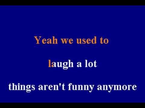 Merle Haggard - Things Aren't Funny Anymore - Karaoke