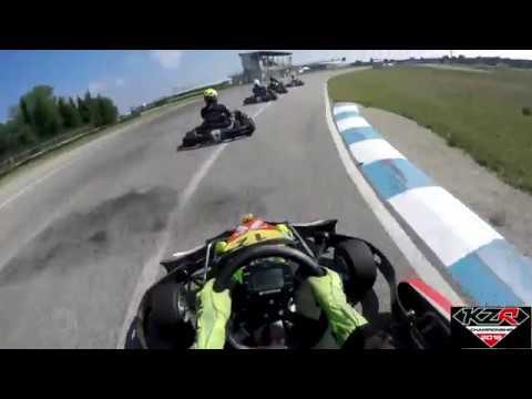 2018 KZR 2T Championship - Race 5 (Ortona) Semi Final