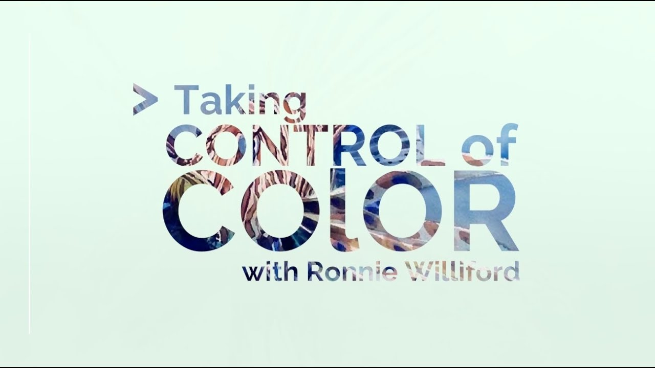 NEW COURSE On Color Theory Now Available With Ronnie Williford