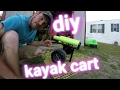 Diy self standing kayak cart mp3