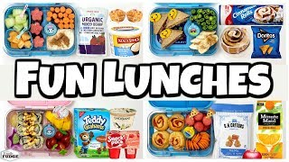Letting YOU DECIDE our lunch 🍎 Making YOUR Lunches  (Part2)