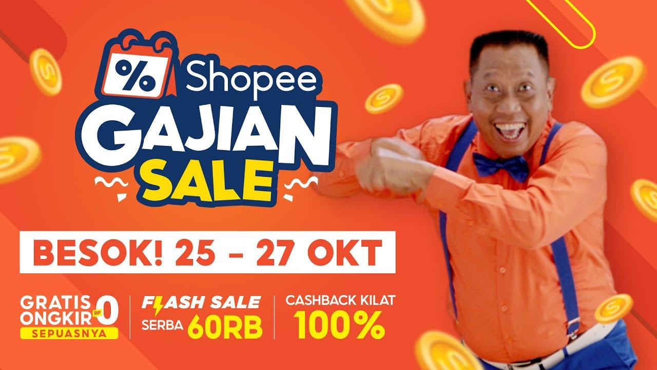 BESOK! Shopee Gajian Sale | Promo Spesial 25-27 Oktober!