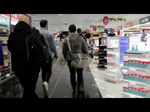A walkthrough video guide of Birmingham Airport for travellers with autism.