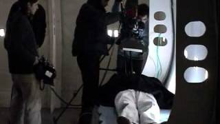 Behind the scenes of MOTH3R shortfilm RITS Brussels 2004