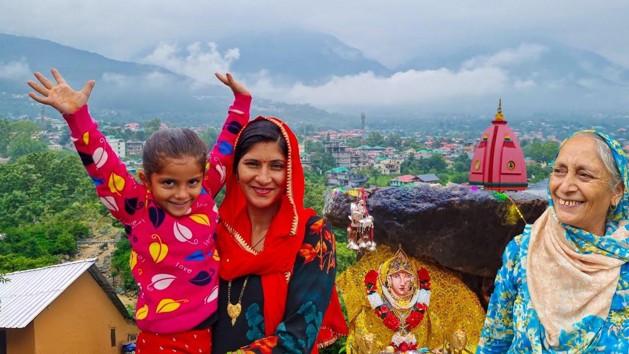 Hp-29 पहाड़ी गांव और जंगल में ये देखो क्या मिला ?? Dharmshala Vlog Tour Mata Kunal Pathri || Himachal