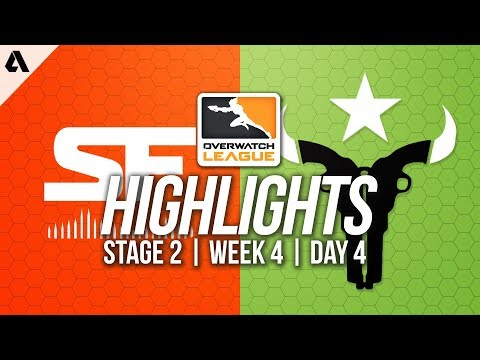 San Francisco Shock vs Houston Outlaws | Overwatch League Highlights OWL Stage 2 Week 4 Day 4