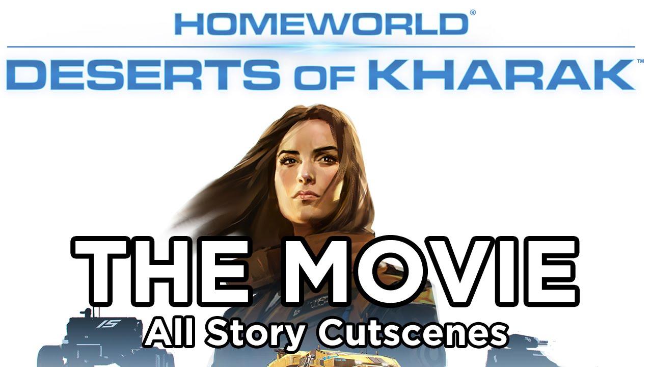 Homeworld Deserts Of Kharak The Movie All Cutscenes YouTube - All deserts