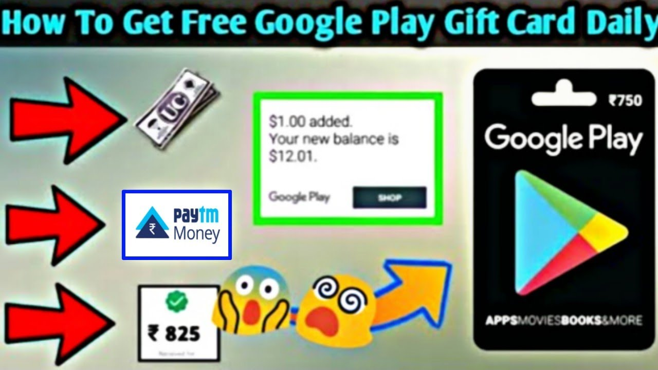How to free 100rs paytm cash and Google play store redeem ...