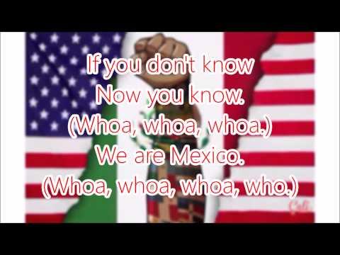 We Are Mexico - Becky G (Lyrics)