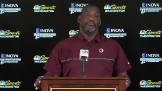 LIVE: Redskins Senior VP of Player Personnel Doug Williams