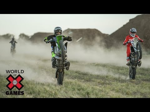 Jackson Strong's Moto X Dirt Part 2: FULL SHOW   World Of X Games