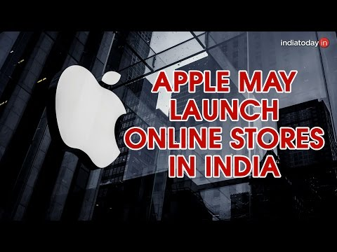 Apple planning exclusive online stores in India