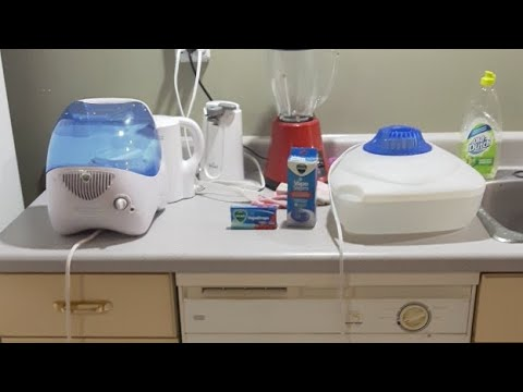 How To Clean And Use A Humidifier And Vicks Vaporizer