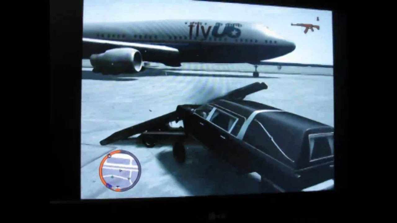 Flying Cars on GTA 4 Xbox 360 - YouTube