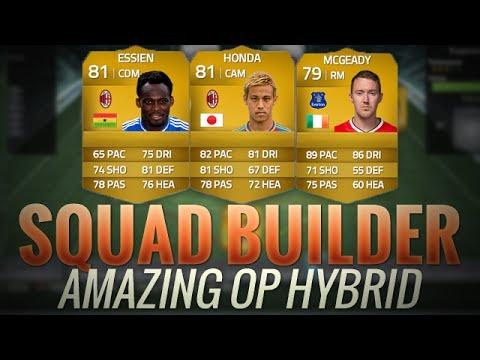 FIFA 14 UT NEW TRANSFERS HYBRID w/ HONDA ESSIEN MCGEADY | FIFA 14 SQUADRA  DI TRASFERIMENTI