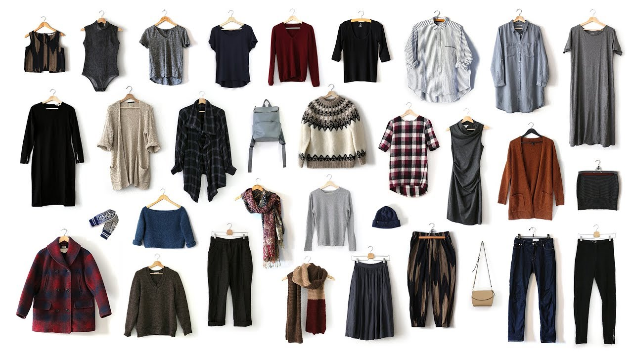 Capsule Wardrobe 2020 Fall.Winter Capsule Wardrobe My Green Closet